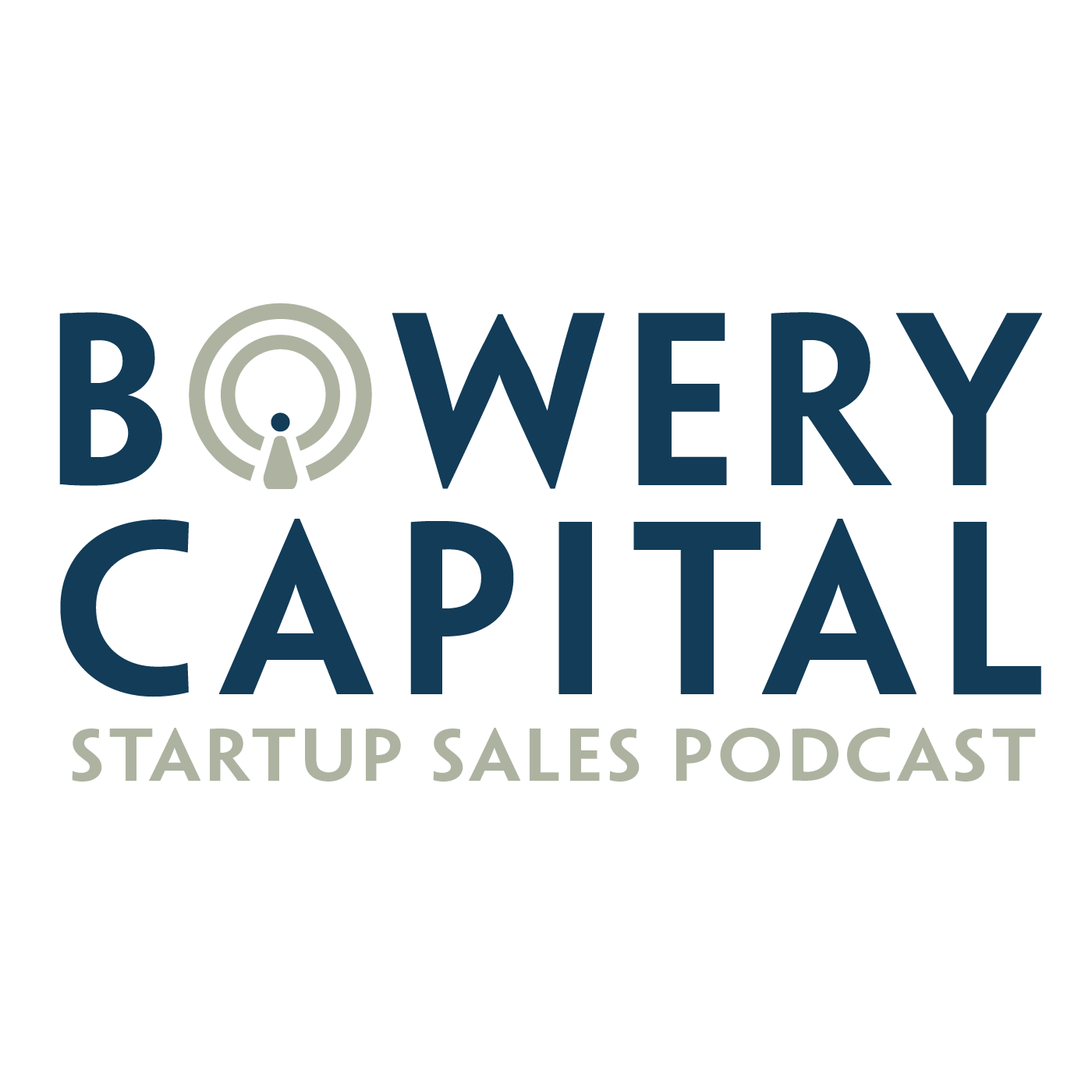 Bowery Capital Startup Sales Podcast show art