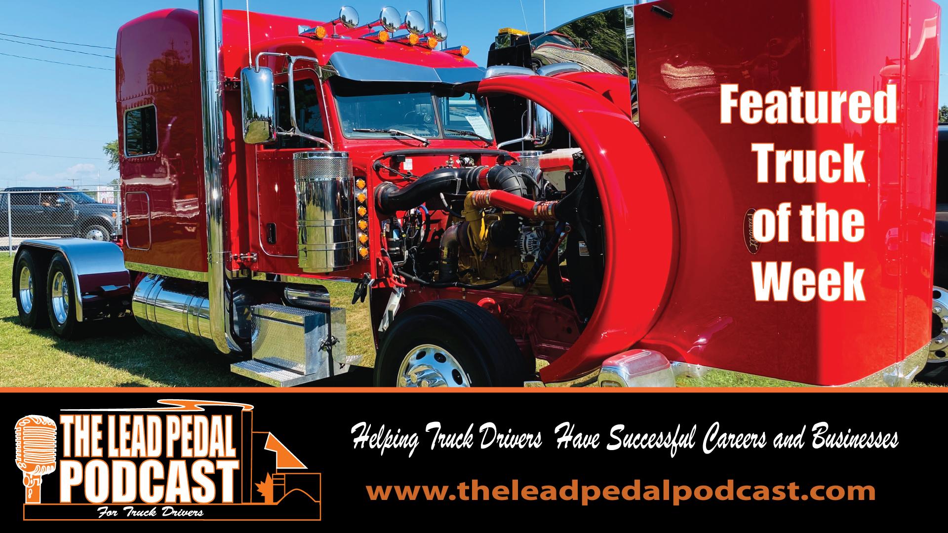 LP603 Featured Truck of the Week 2020 Red Peterbilt