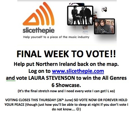 Vote for Laura Stevenson