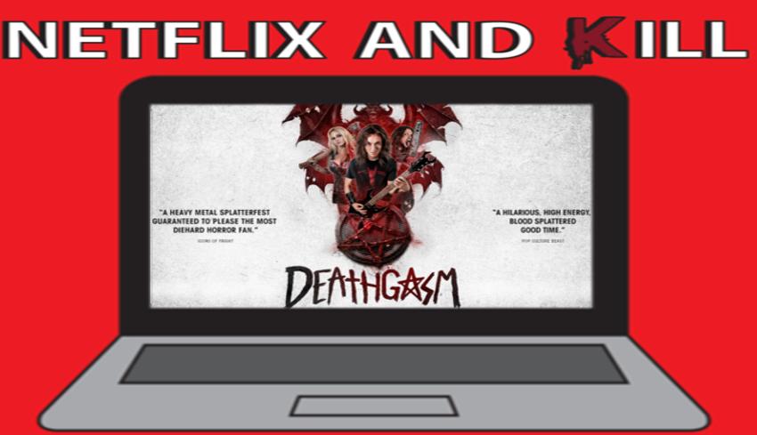 Artwork for Netflix and Kill - Deathgasm