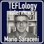 Artwork for TEFL Interviews 34: Mario Saraceni on World Englishes