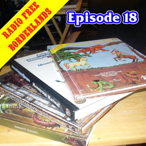 Episode 18 - Monstrous Evolution (Sans Leprechaun After 2e)