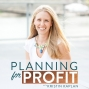 Artwork for Episode 041: How to Create Consistent Revenue with Marketing Funnels with Michelle L. Evans   Planning for Profit Podcast