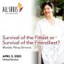 Artwork for 'SURVIVAL OF THE FITTEST OR SURVIVAL OF THE FRIENDLIEST?' - A sermon by Mariela Pérez-Simons (Virtual Service)