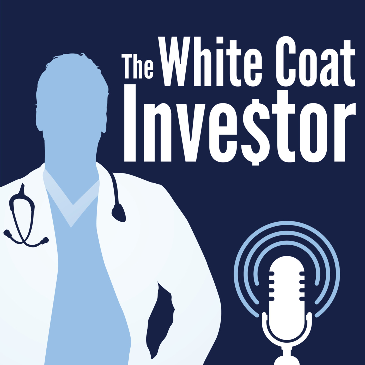 White Coat Investor Podcast show art