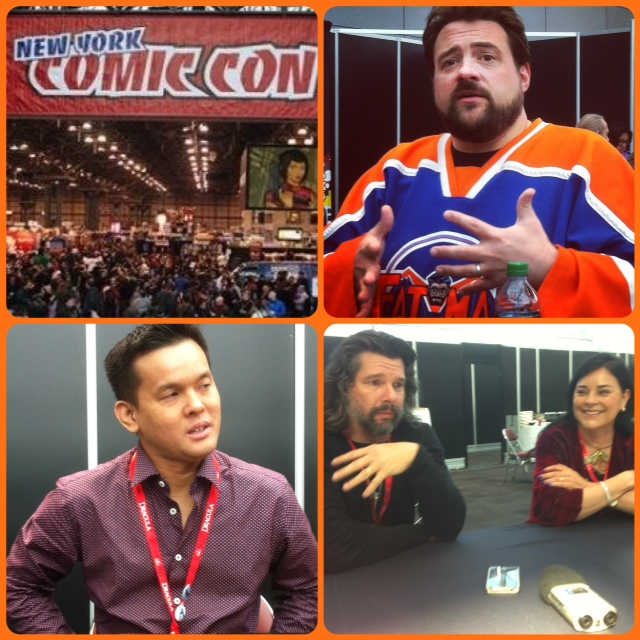 Episode 503 - More NYCC with Kevin Smith/Jay Oliva/Ronald D. Moore & Diana Gabaldon