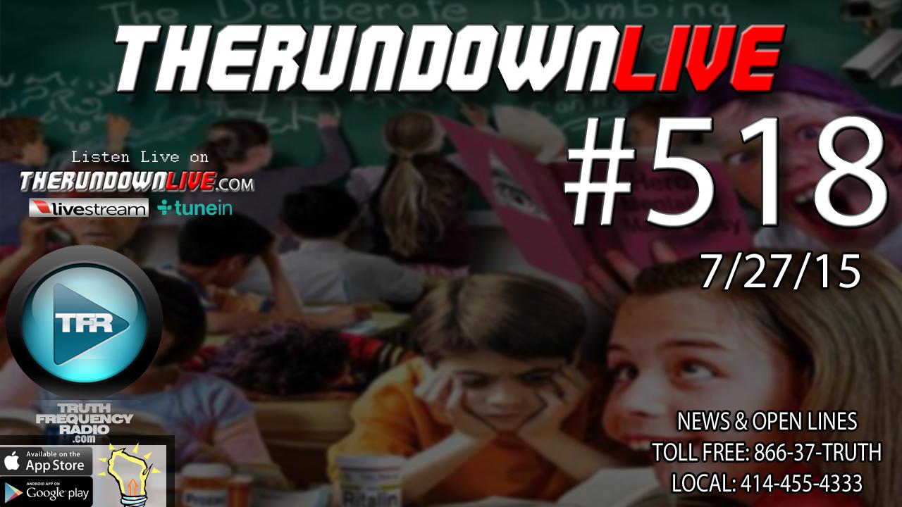 The Rundown Live #518 (Milwaukee,Baphomet Statue,Masonic Symbols)