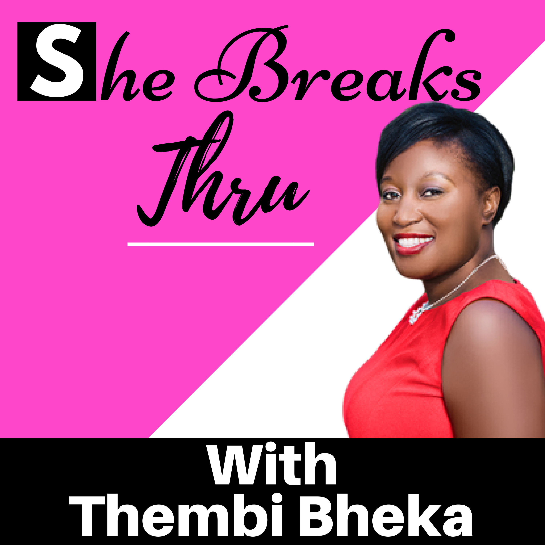She Breaks Thru show art