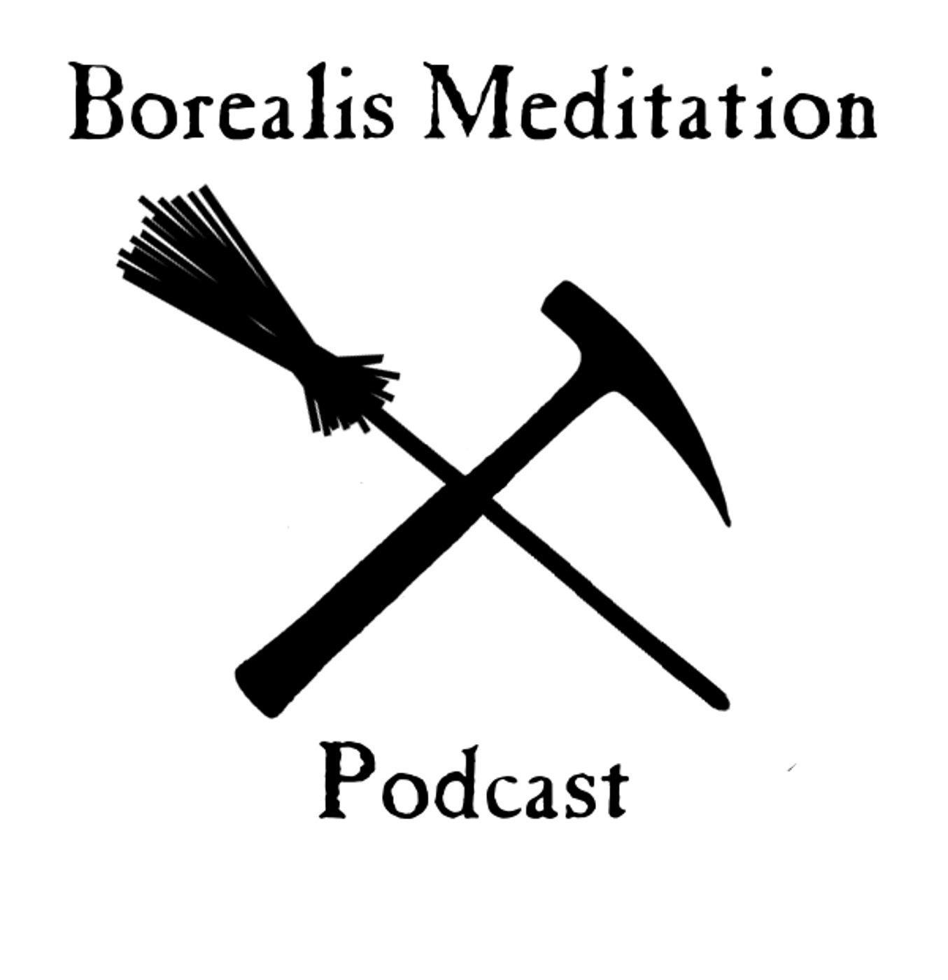 Borealis Meditation Podcast show art