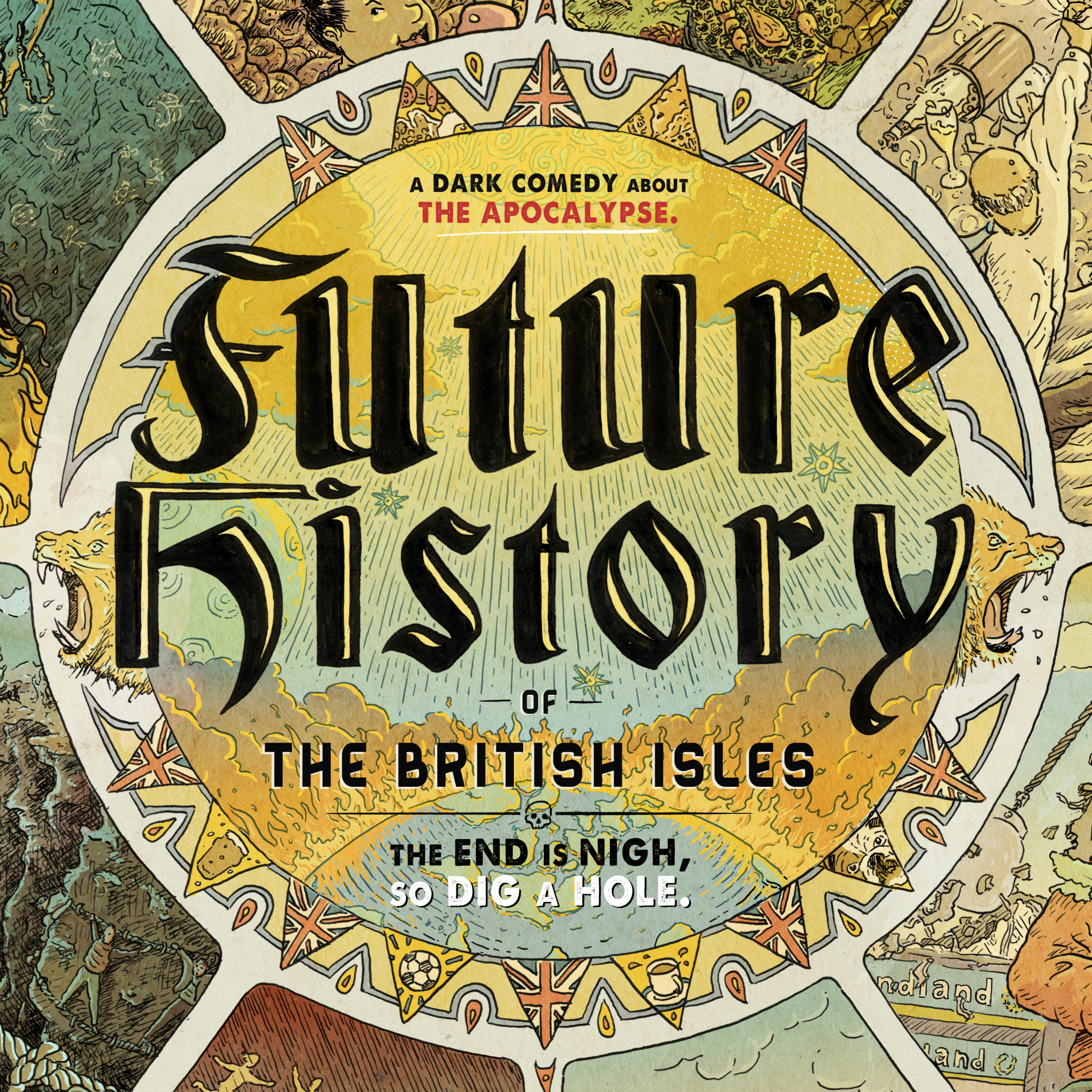 The Future History of the British Isles show art