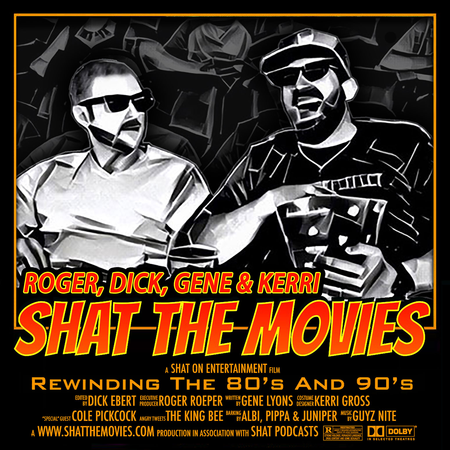 Shat the Movies: 80's & 90's Best Film Review show art