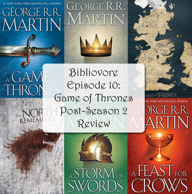 Episode 10 - Game of Thrones Season 2, post-season review