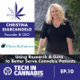Artwork for Using Research & Data to Better Serve Cannabis Patients | TiC Interview: Christina DiArcangelo - ABP
