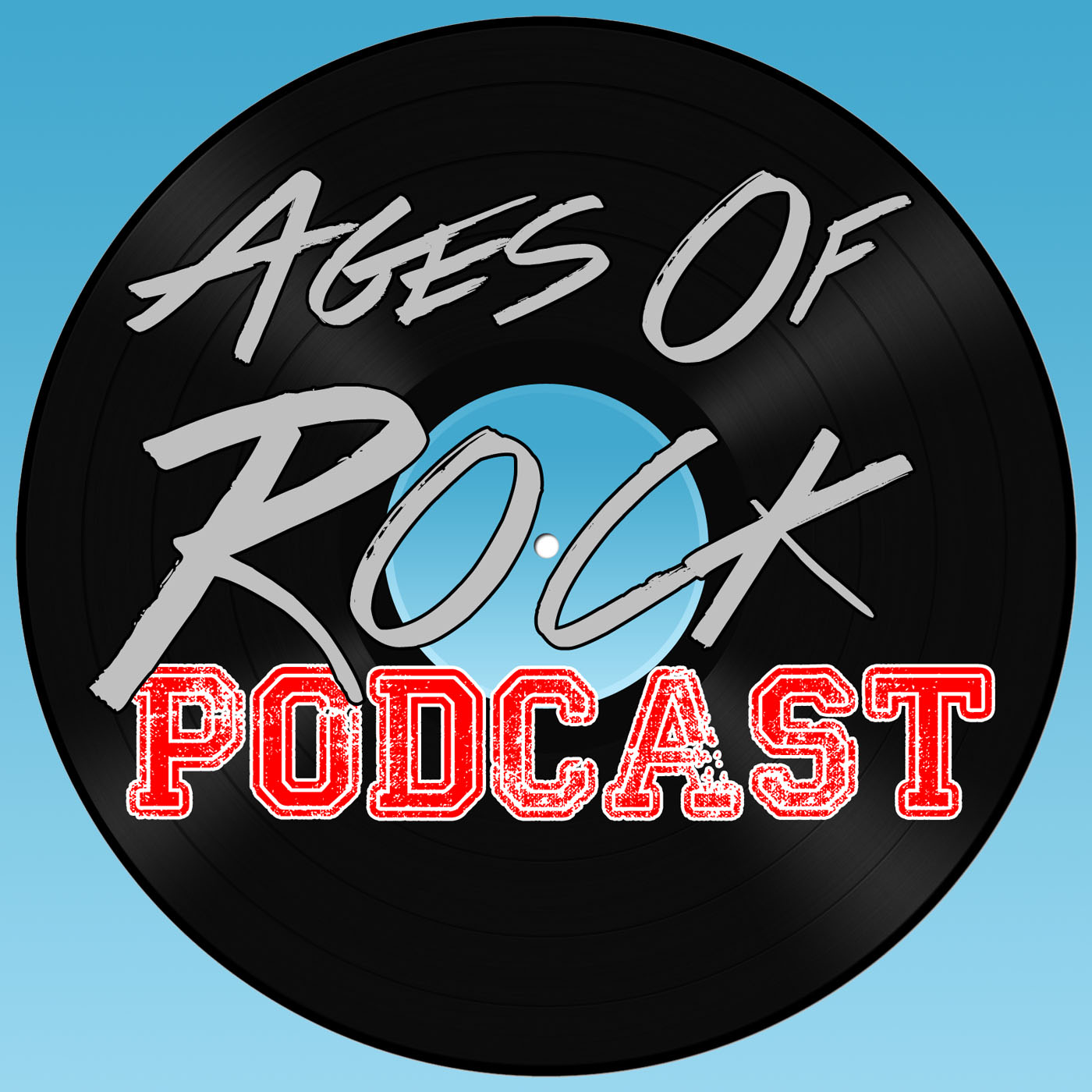 Ages Of Rock Podcast show art