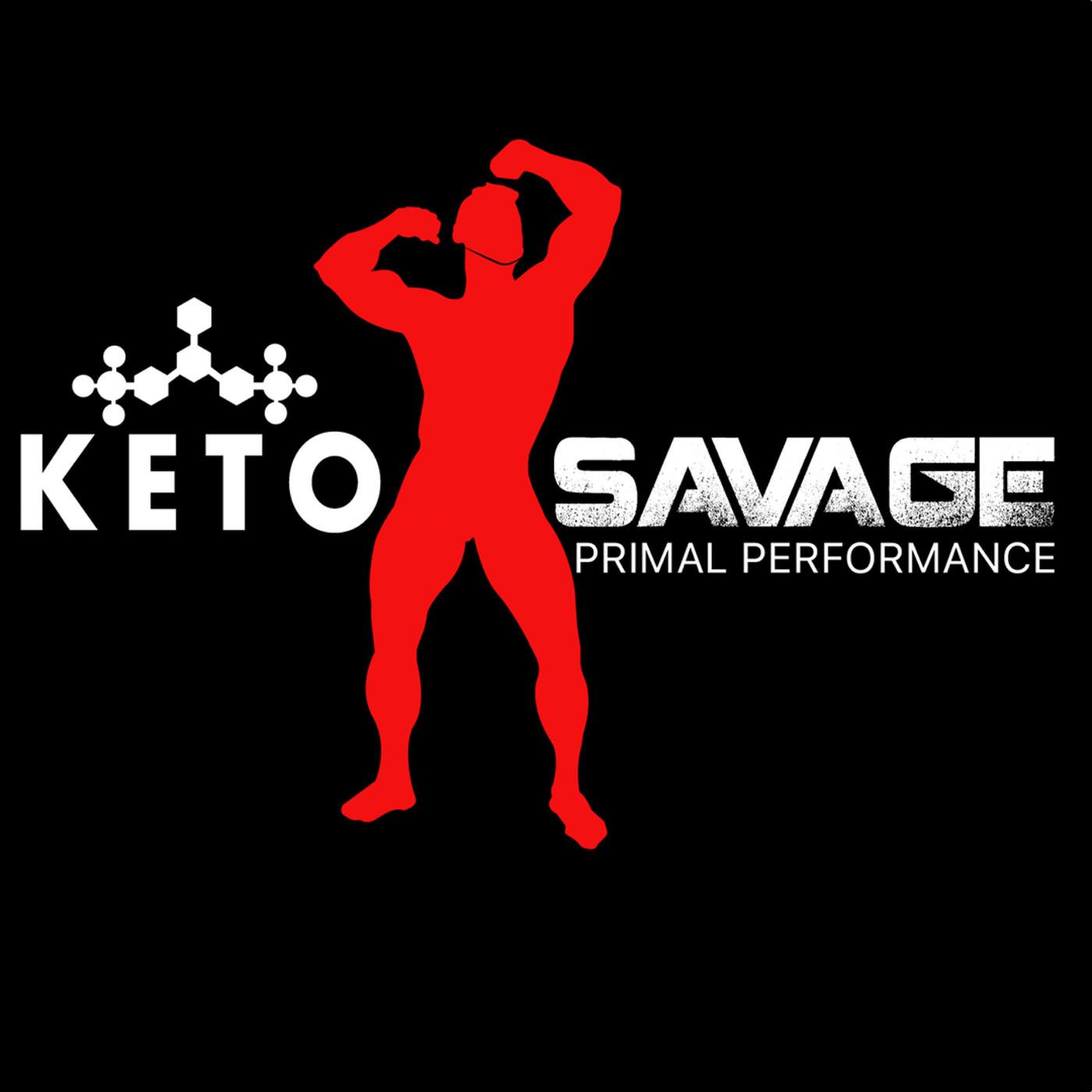 The Keto Savage Podcast show art