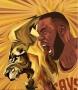 "Artwork for Elliot Gerard discusses his LeBron James ""Zero Dark"" imagery"