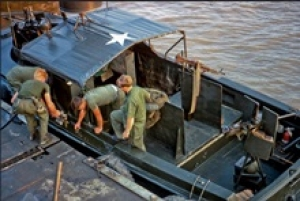 MSM 511 Sidney G. Land - River Patrol Boat Officer in Vietnam
