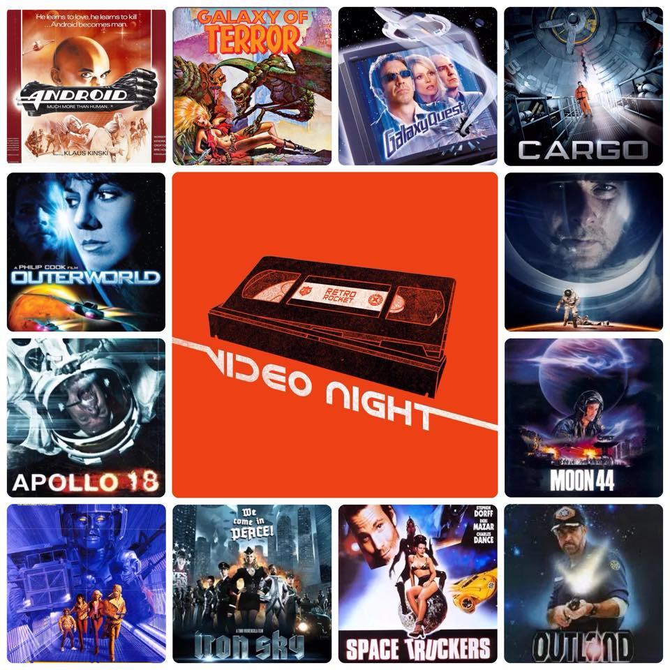 Video Night goes Intergalactic!
