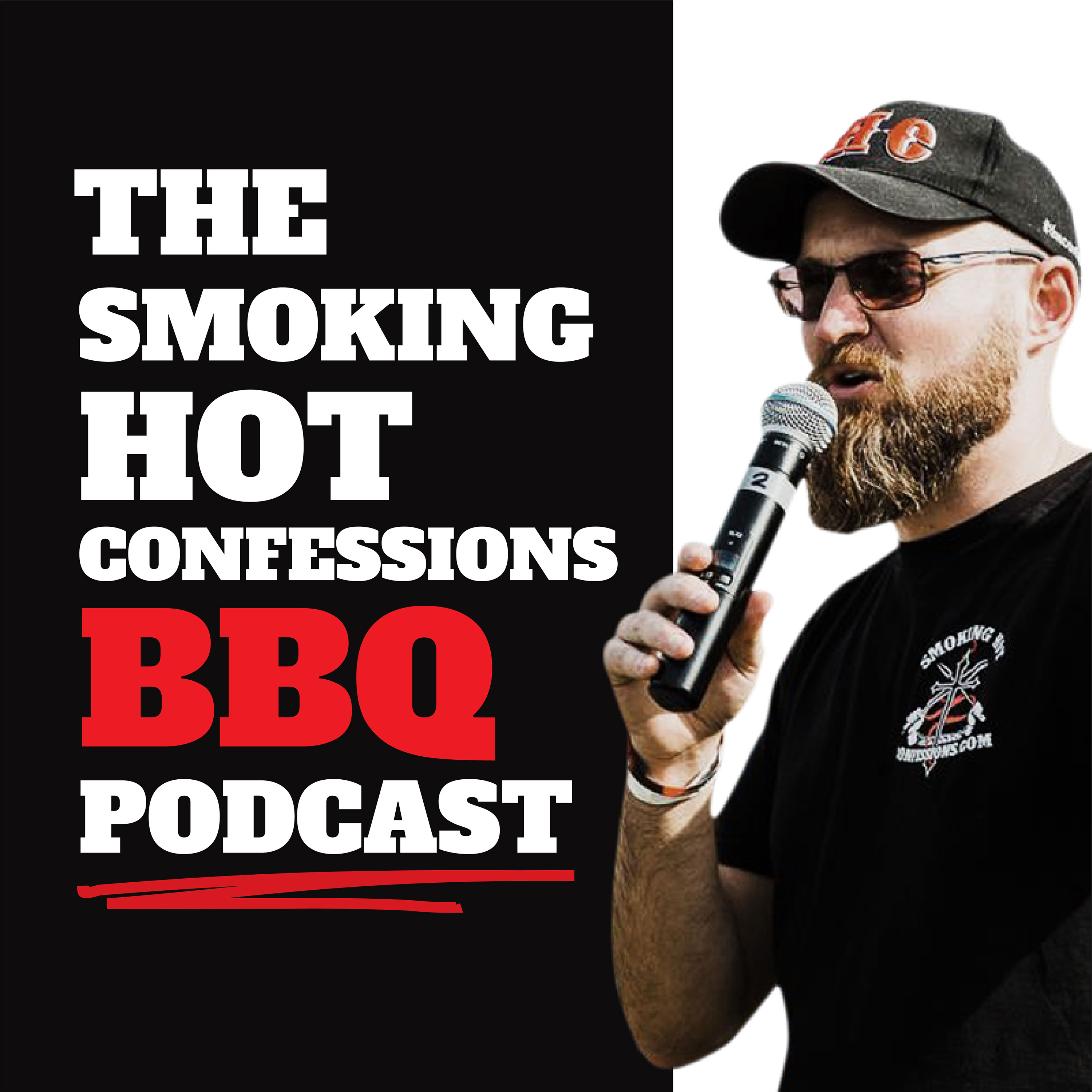 The Smoking Hot Confessions BBQ Podcast show art