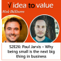 Artwork for S2E26: Paul Jarvis - why staying small is the next big thing in business