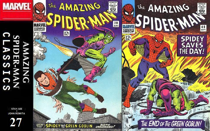 027 ASM Classics - Amazing Spider-Man 39 and 40