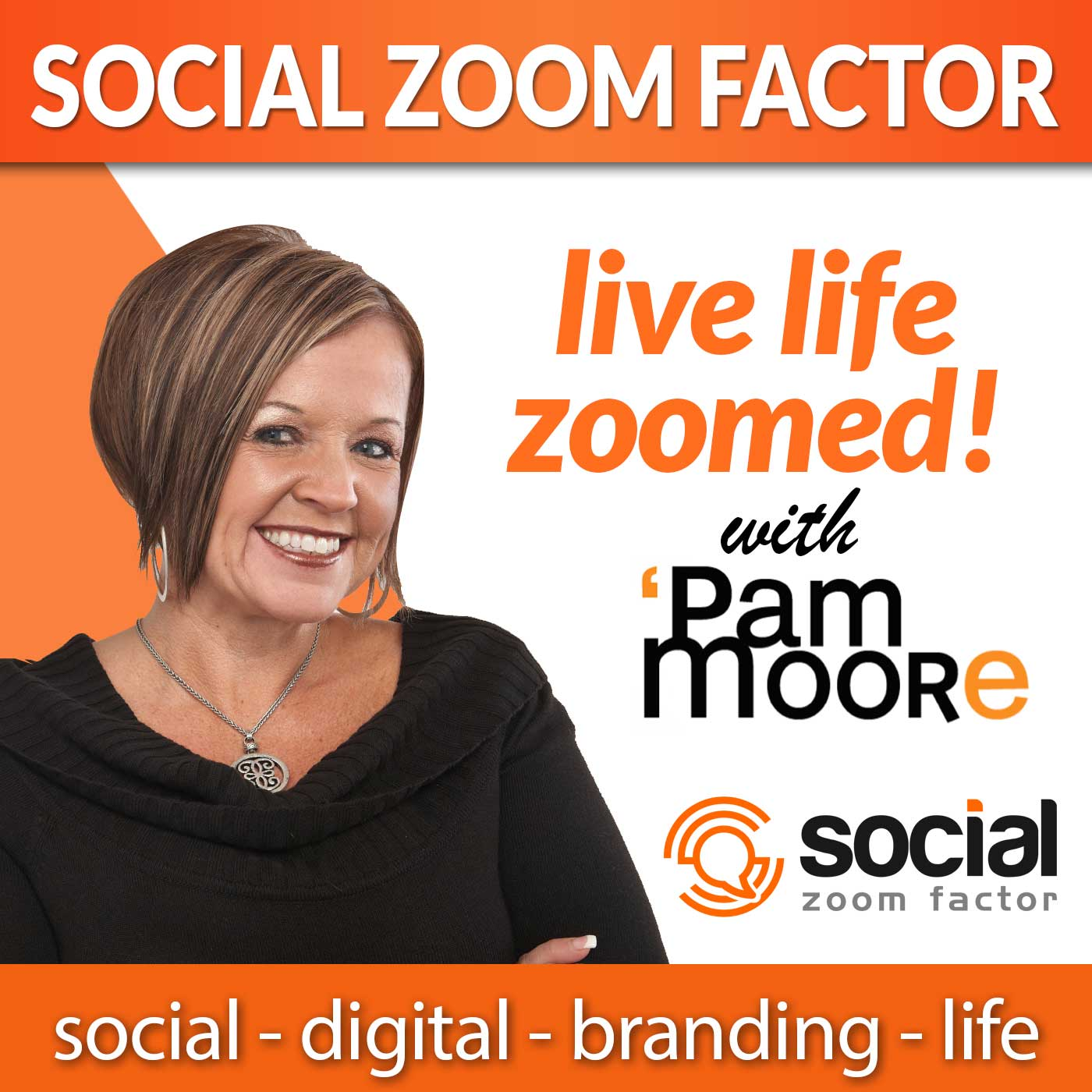 Social Media Zoom Factor with Pam Moore | Social Media Marketing | Branding |Business | Entrepreneur | Small Business | Digital Marketing | Content Marketing | Marketing | Influencer