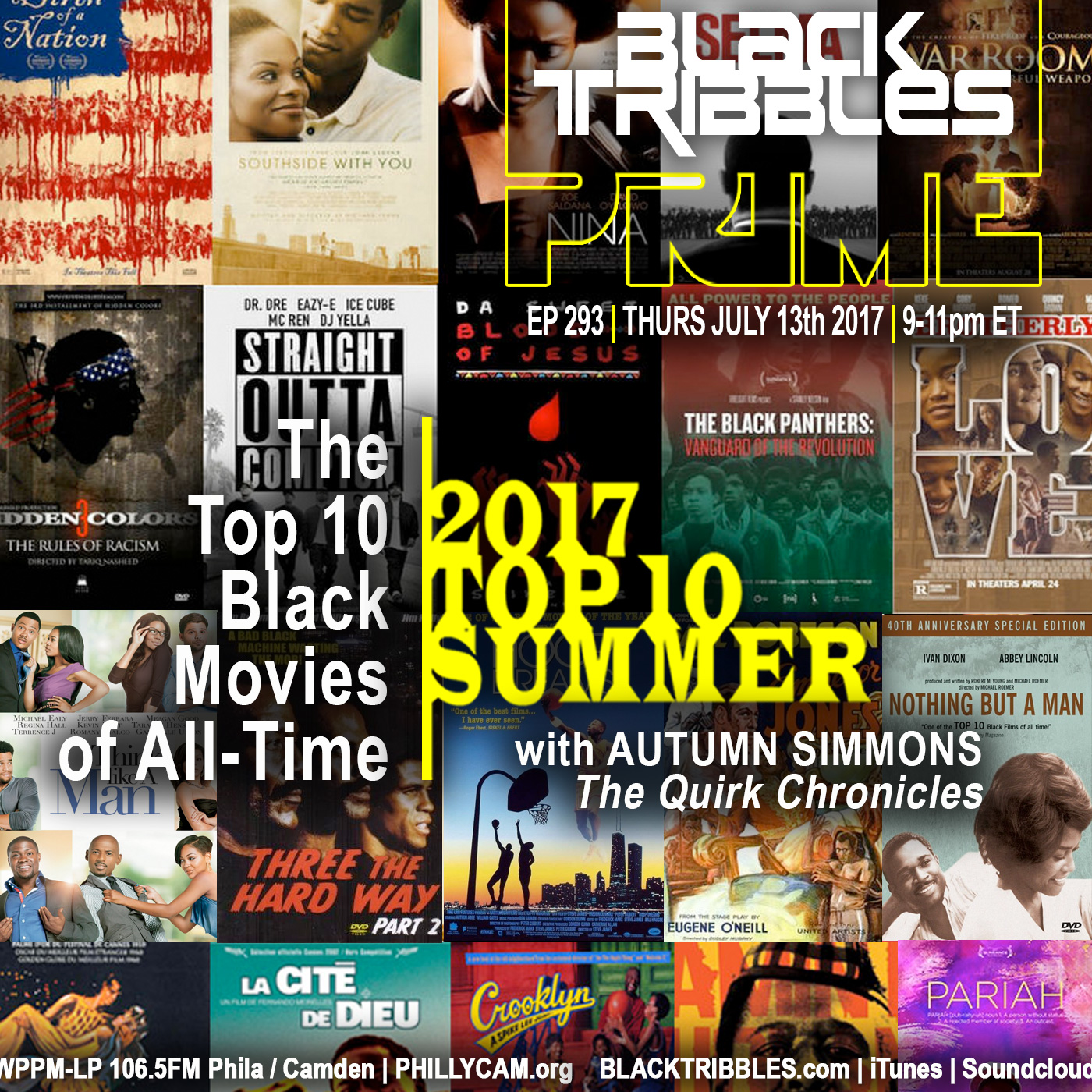 Artwork for 293 - TOP 10 Black Movies of All-Time