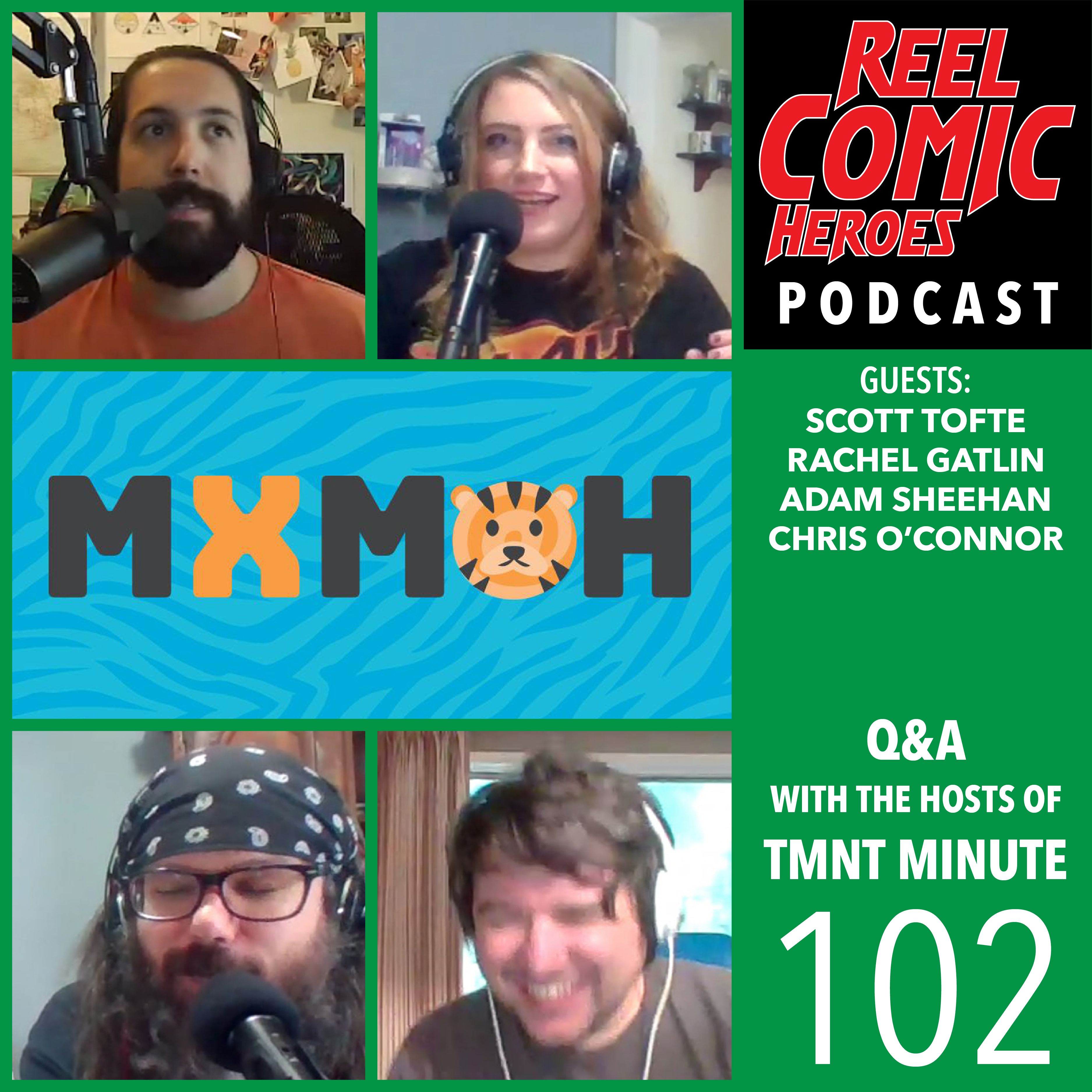 Artwork for 102 - Q&A with TMNT Minute
