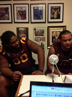Episode 67 - Will Sutton & Carl Bradford in studio and more from Media Day