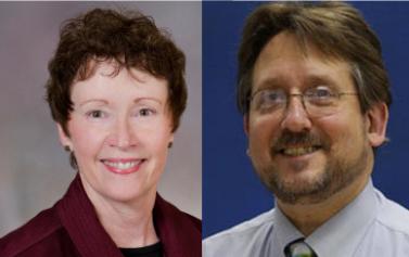 Cinda Hugos and Dr. Herb Karpatkin