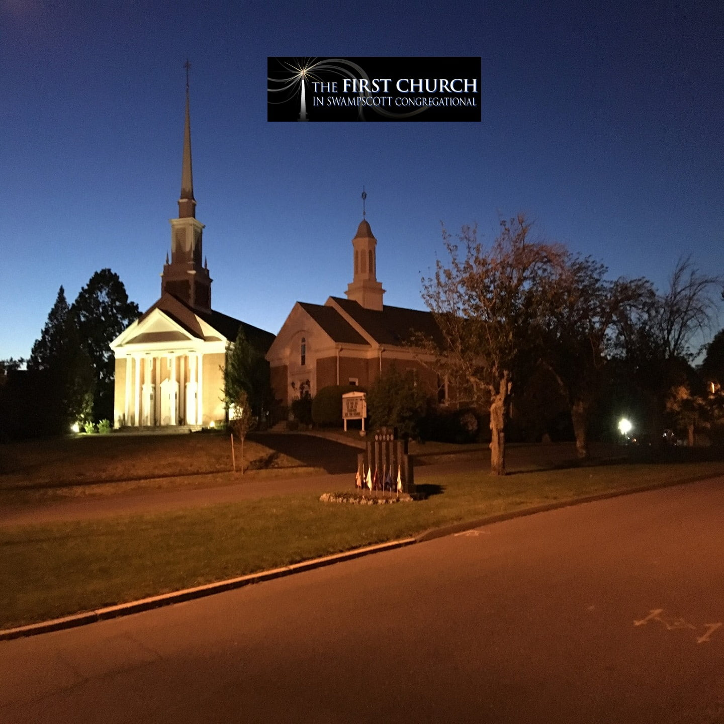 The First Church in Swampscott's podcast show art