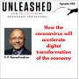 Artwork for 242. C.V. Ramachandran on how the coronavirus will accelerate digital transformation of the economy