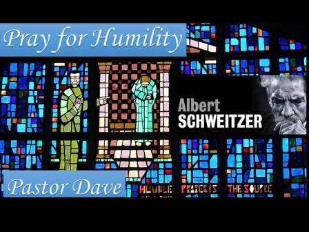 Pray for Humility