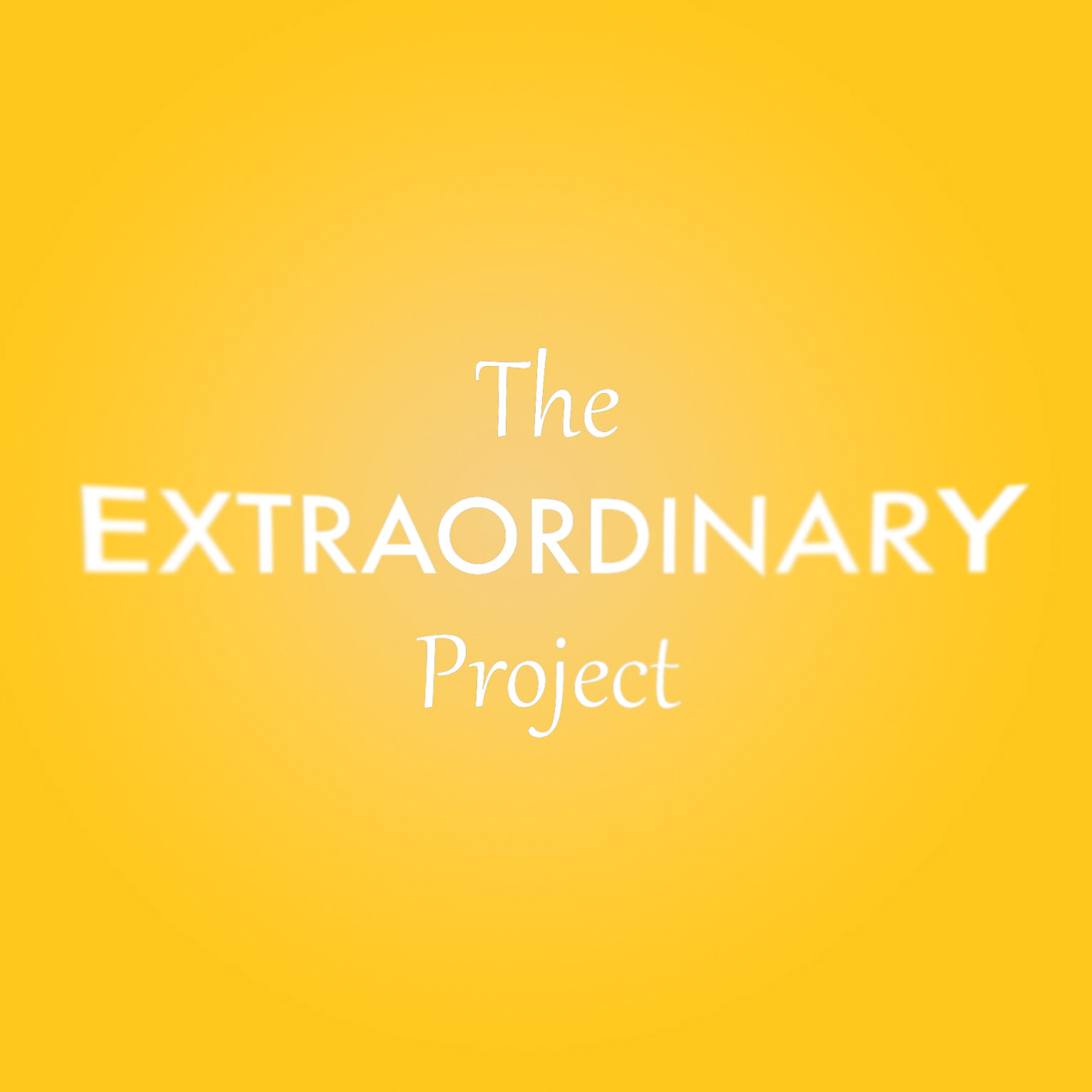 Introduction: The Extraordinary Project
