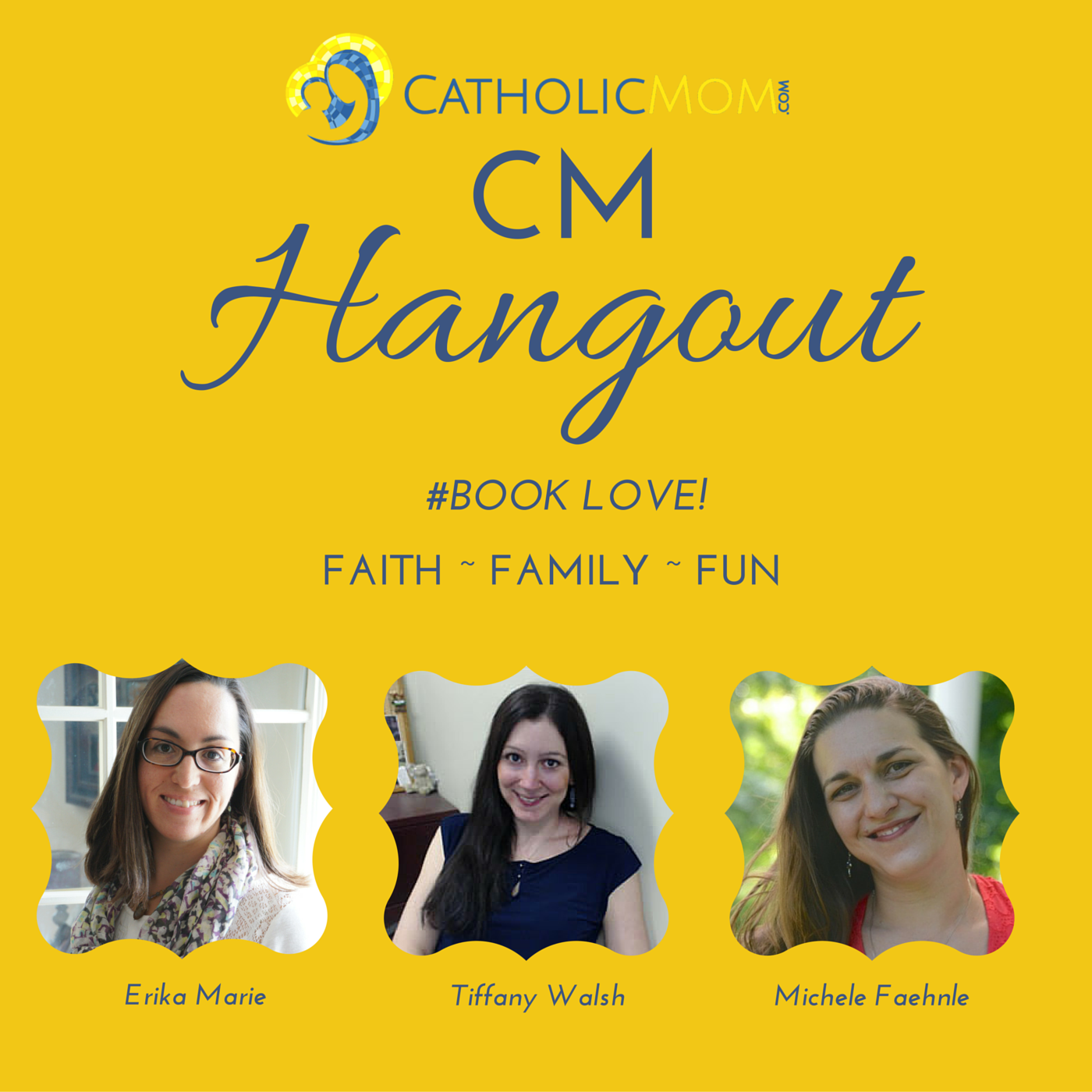 CM Hangout #23: Book Love! Catholic Moms' Favorite Books