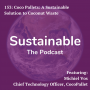 Artwork for  153: CocoPallets: A sustainable solution to coconut waste with Michiel Vos