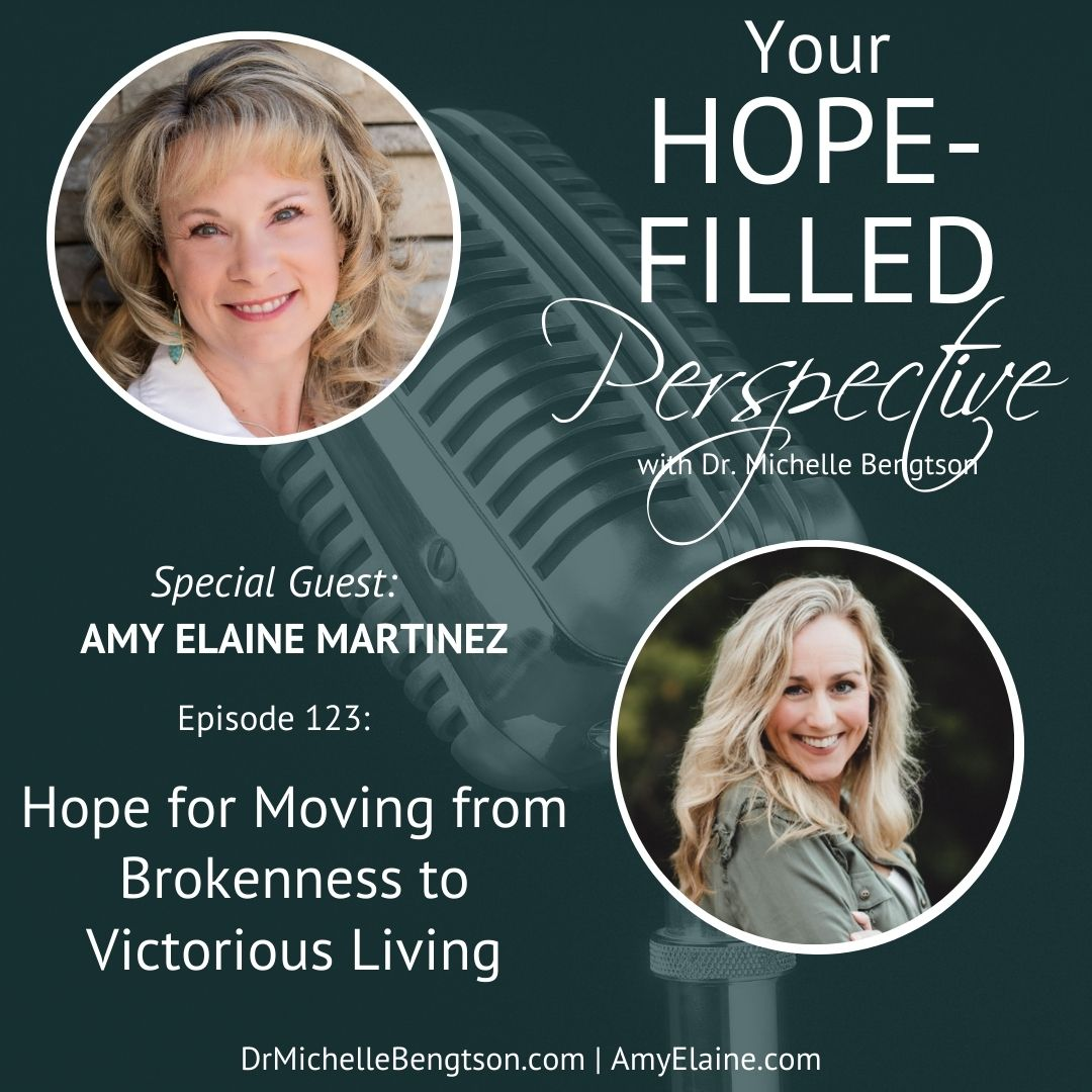 123 Hope for moving from brokenness to Victorious Living show art