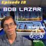 Artwork for Ep.18: Blanton's bourbon and Bob Lazar: Conspiracy Theorist or Secret Alien Technology Whistle Blower?