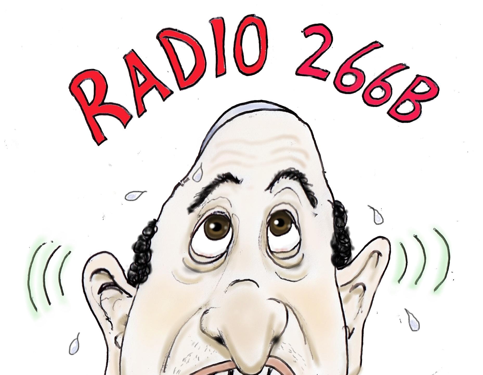 Radio 266b show art