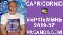 Artwork for HOROSCOPO CAPRICORNIO - Semana 2019-37 Del 8 al 14 de septiembre de 2019 - ARCANOS.COM...