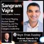 Artwork for Ep. 14 - Sangram Vajre: On Funnel Flipping, Account Based Marketing, and the Secret Formula for Category Leadership