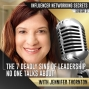 Artwork for 🎧 The 7 Deadly Sins of Leadership No One Talks About with Jennifer Thornton🎤