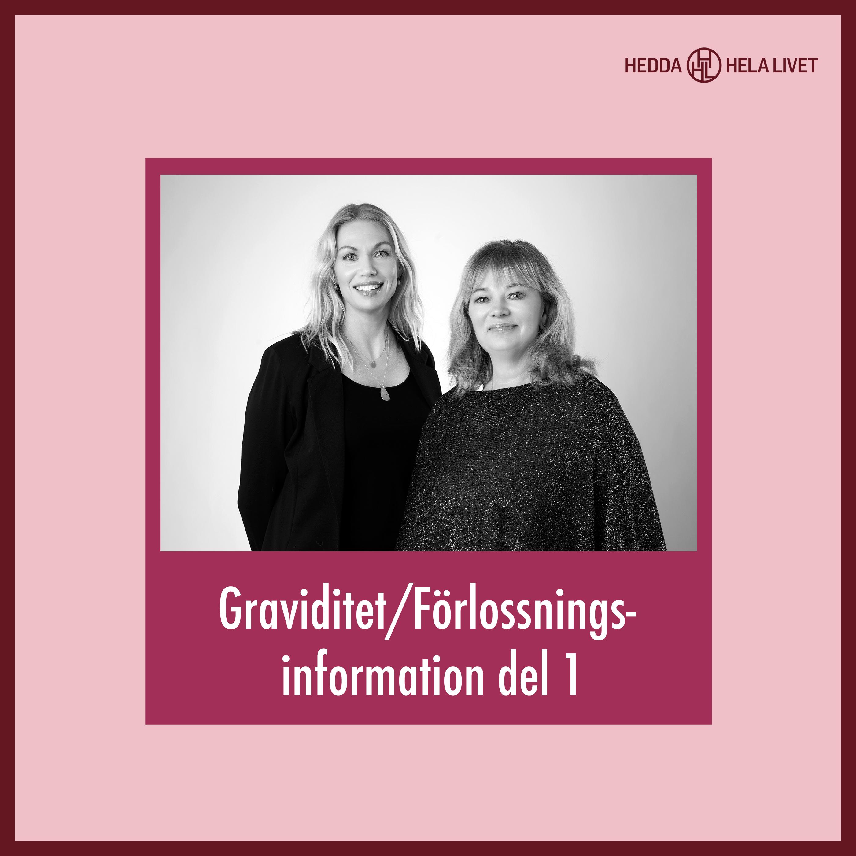 1. Graviditet/Förlossnings information del 1