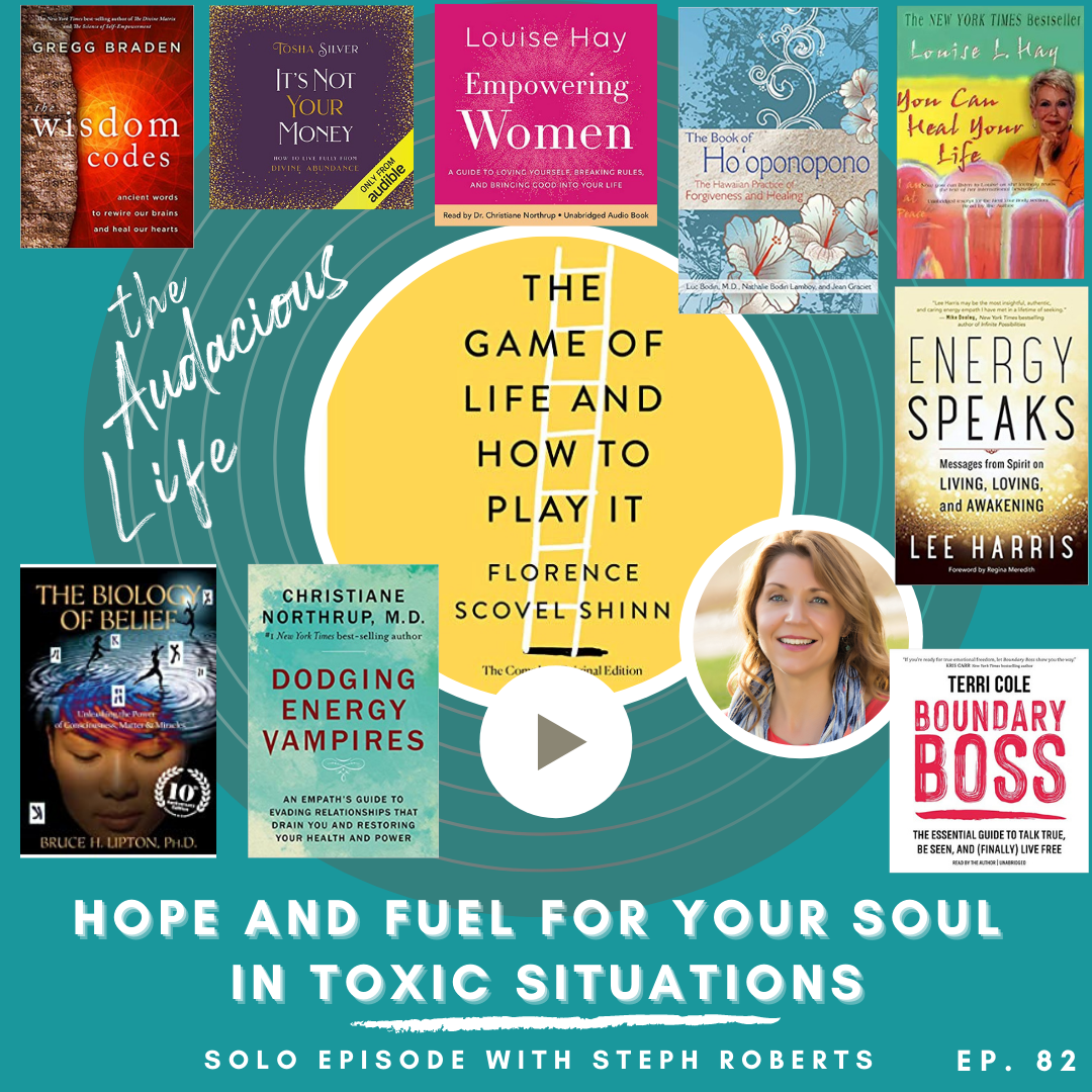 Hope and Fuel for your soul in toxic situations