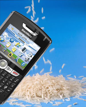 Lo mejor para un móvil sumergido es: el arroz
