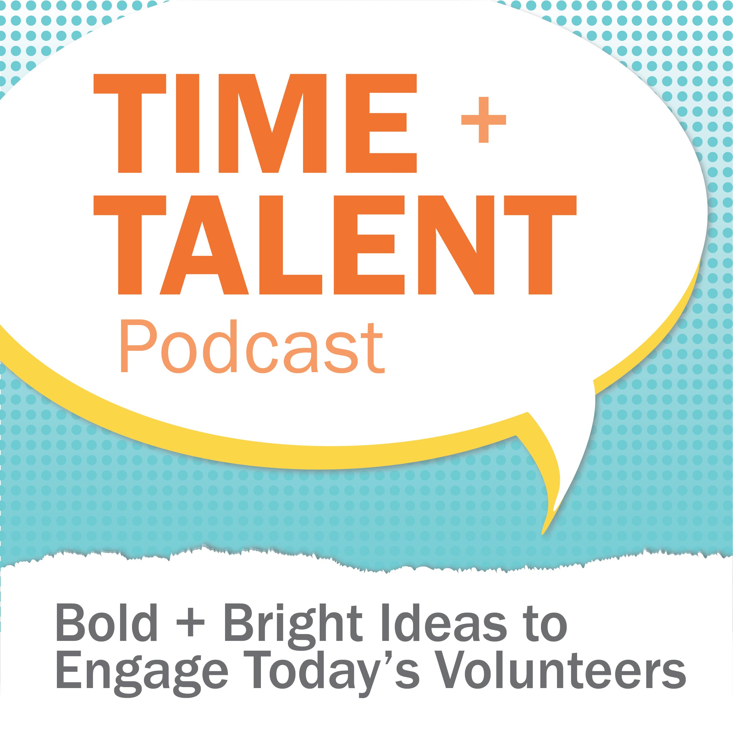 Time + Talent Podcast show art