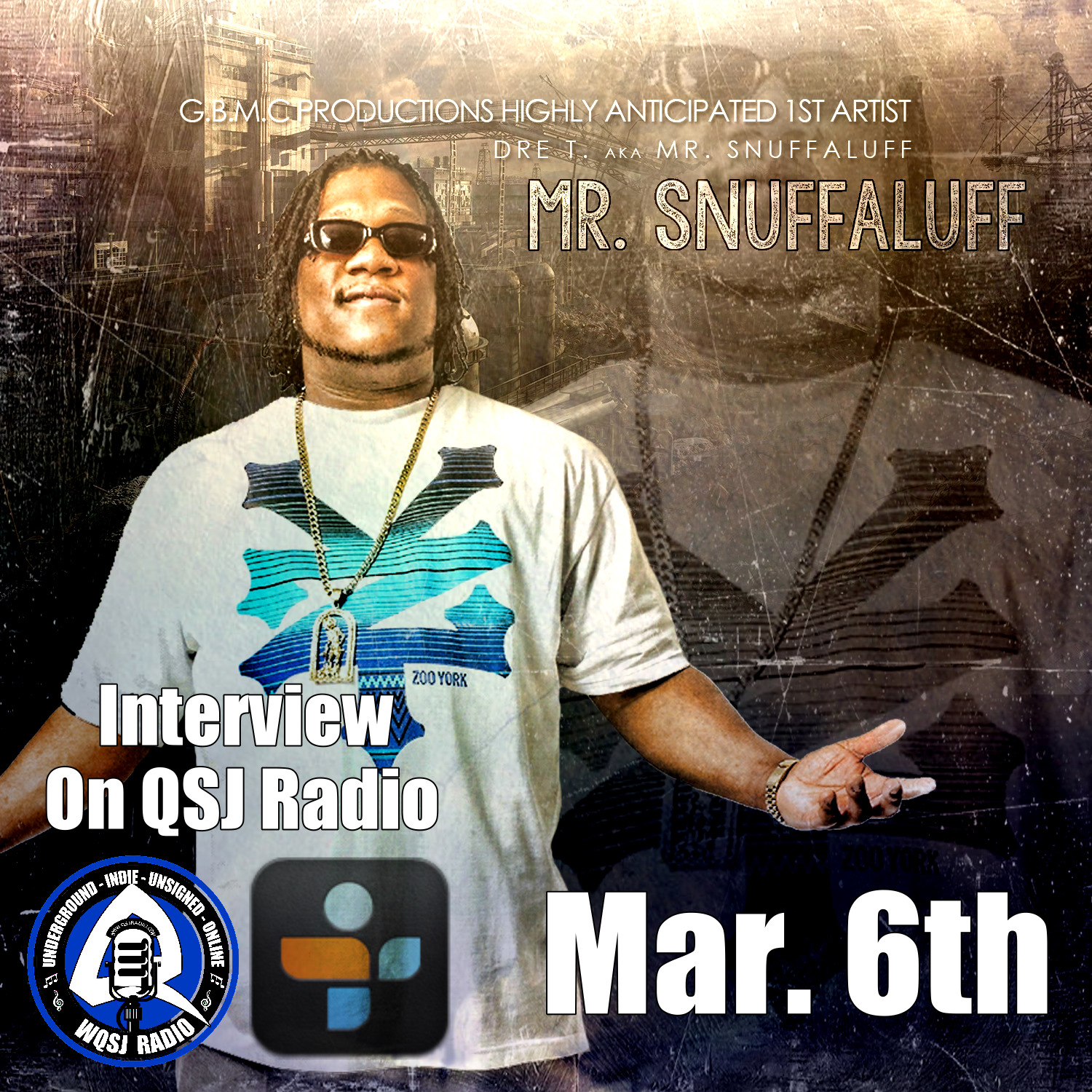 QSJ Radio | 3.6.2014 No Dear Air Dre T. aka Mr. Snuffaluff