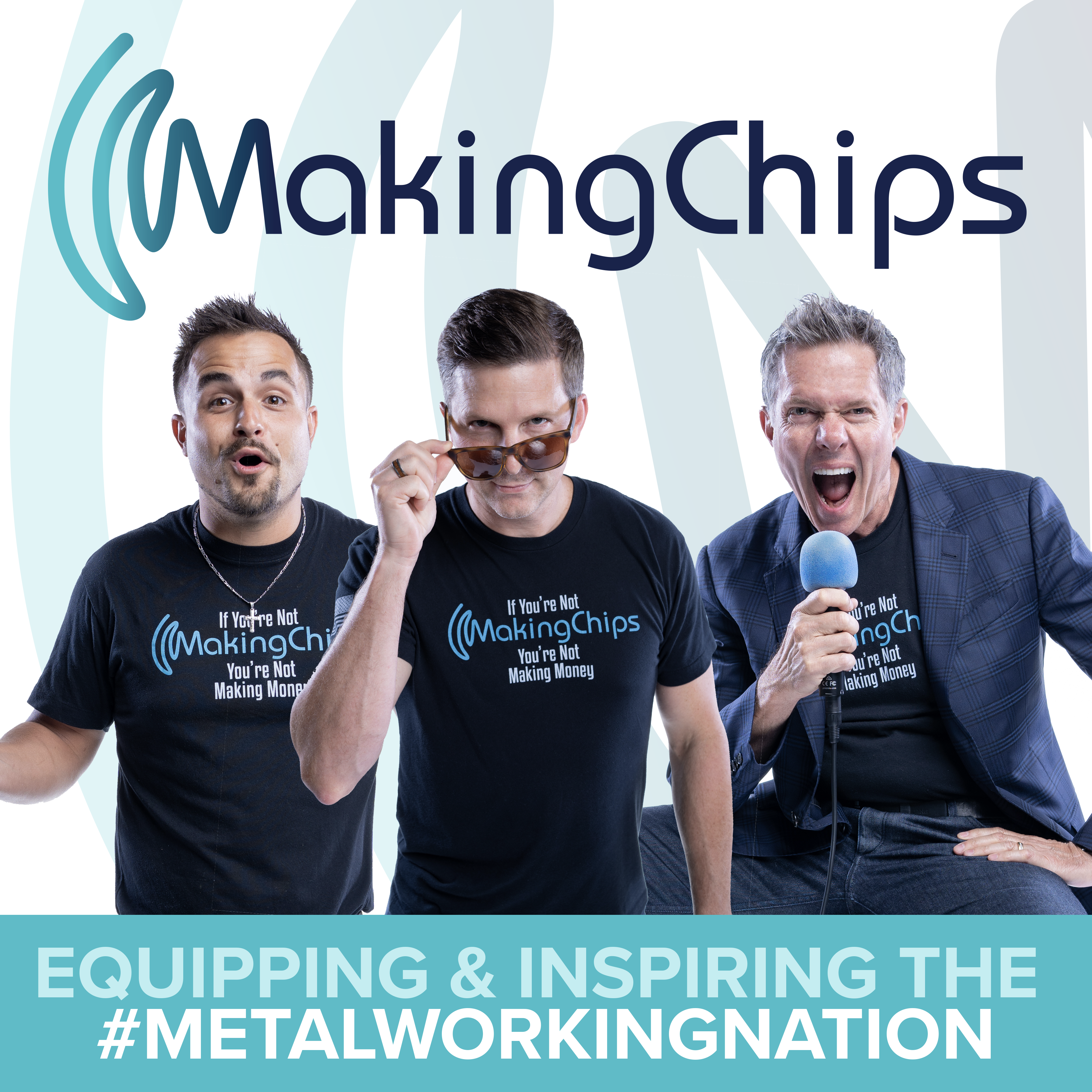 MAKING CHIPS Podcast for Manufacturing Leaders with Jason Zenger & Jim Carr show art