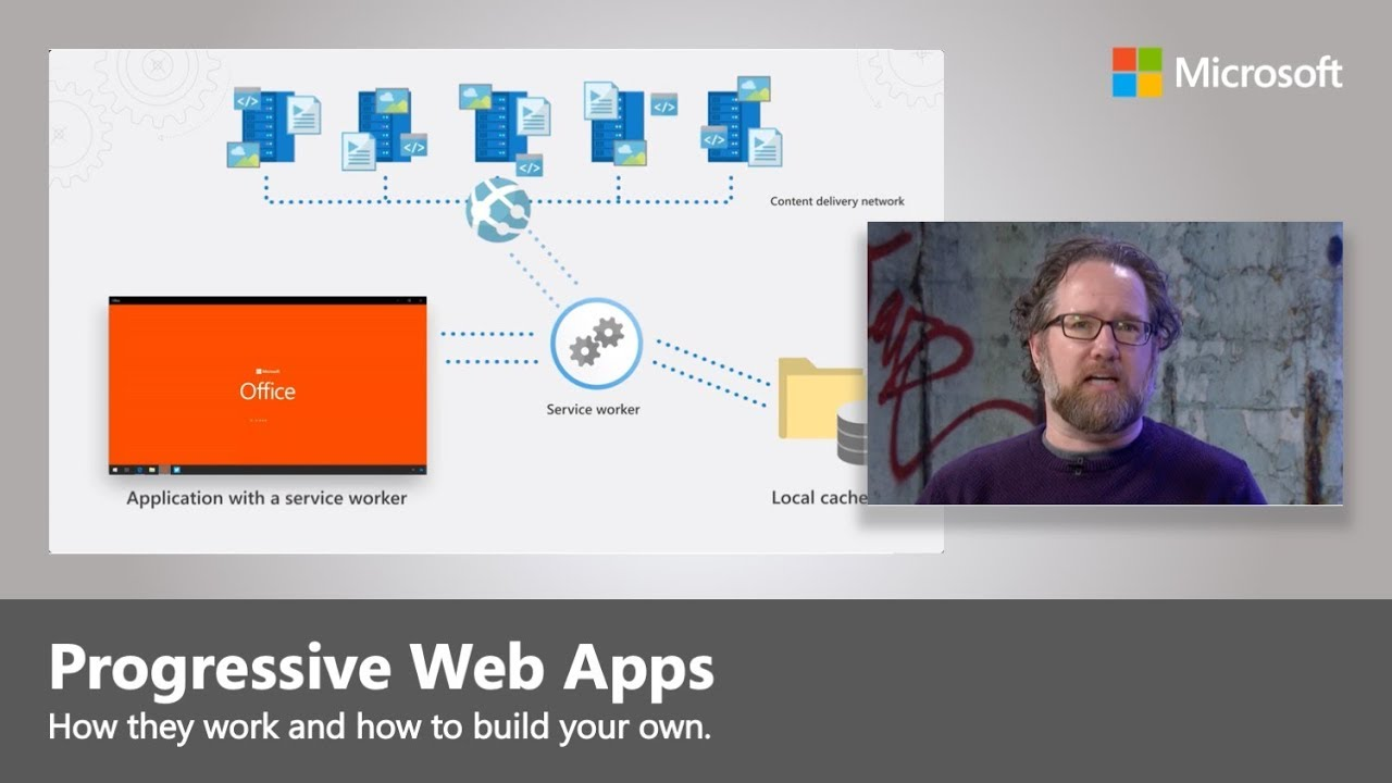 Artwork for Introducing Progressive Web Apps and the new Office app (PWA)