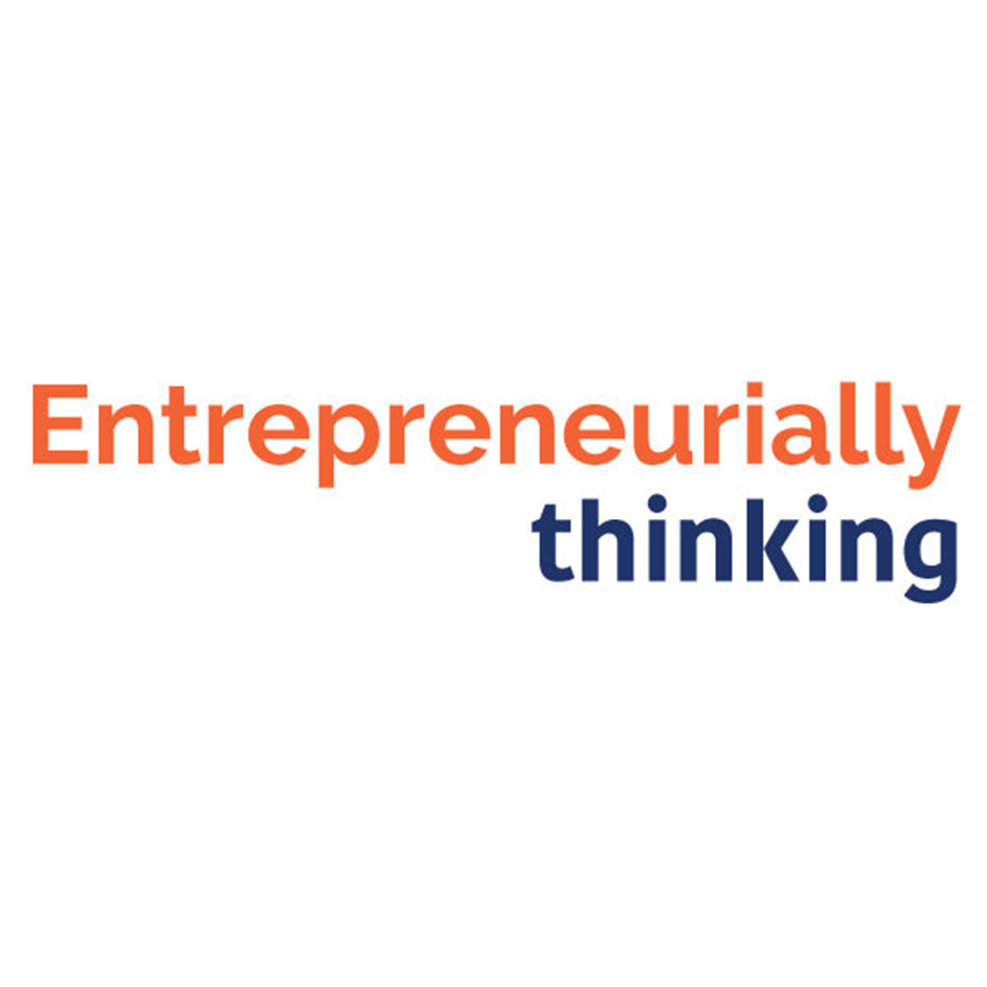 Entrepreneurially Thinking show art